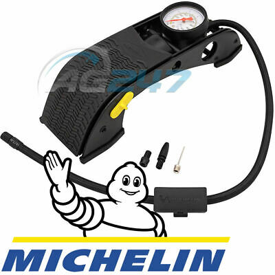 Michelin 12200 Single Barrel Car Bicycle Cycle Bike Tyre Inflator Foot Pump +FRE