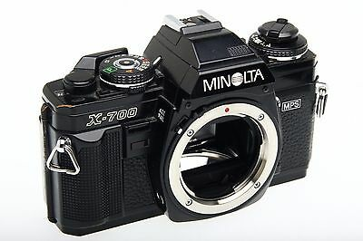 One Minolta X-700 Classic 35mm Manual Camera Body - Working Great!