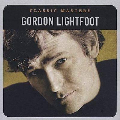 "Gordon Lightfoot, Cd ""classic Masters"" New Sealed"