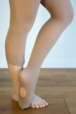 Dance Tights Convertible Tan - Sml Ch to  XL Adult