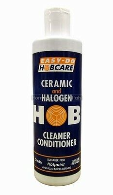 NEW Easy Do Ceramic & Halogen Hob Cleaner Conditioner