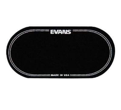 Evans Eqpb2 Black Nylon Eq Bass Drum Patch Impact Pad