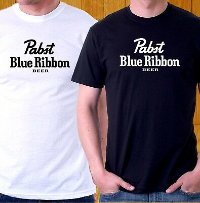 New T-Shirt Pabst Blue Ribbon Pbr Tee Beer S To 3Xl