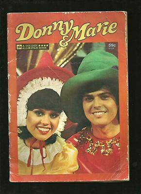 Donny & Marie All Star Book comic 1977 32pgs ODD!