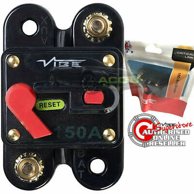 Vibe Audio CB150 12v 150A Car Amplifier Power System Protection Circuit Breaker