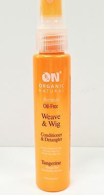 2oz ON Organic Natural Weave & Wig Tangerine Detangler