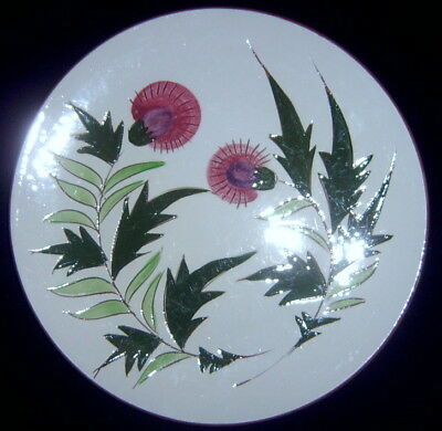 Stangl Pottery Thistle Lunch Plate