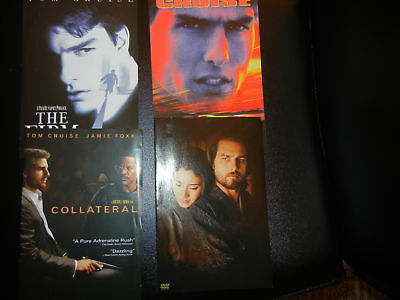 Tom Cruise, Collateral +4 More Great Movies! No Case!
