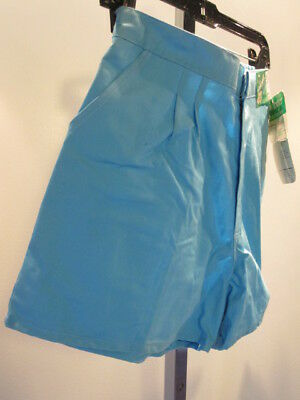 Nos Vintage 1980s WRANGLER High Waisted Pleated Short Pants Retro Junior Fit 7