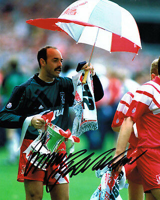 Bruce Grobbelaar HAND SIGNED Liverpool FC Legend 10x8 Photo AFTAL COA Autograph