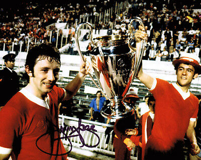 Jimmy Case GENUINE SIGNED Liverpool 10x8 Photo AFTAL