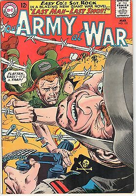 Our Army At War #152 DC March 1965 VG+ 4.5