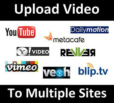 Video Submission service to 60 high PR video sharing sites