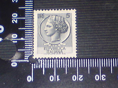 Used Stamp - Italy - Lire 5