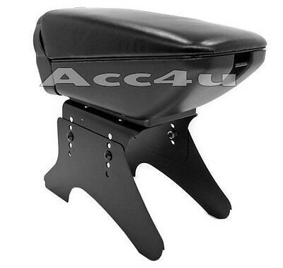 Universal Car Black Centre Console Arm Rest With Drink Holder & Support Stand