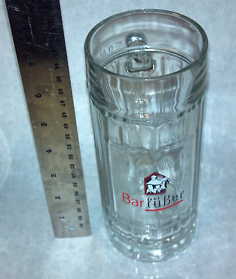Barfuber Beer German Beer Mug Vintage New