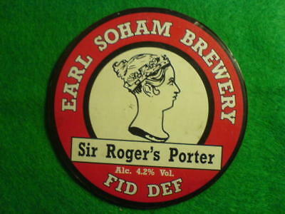 Beer Pump Clip - Sir Roger's Porter
