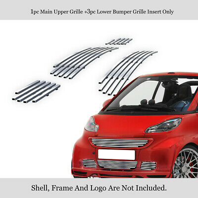 For 08-11 2011 Smart Fortwo Billet Grille Insert