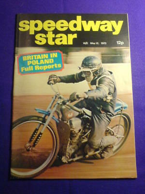 SPEEDWAY STAR - 12 May 1973