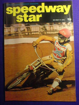 SPEEDWAY STAR - 17 May 1975