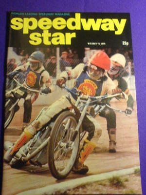 SPEEDWAY STAR - 19 May 1979