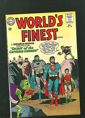 Worlds Finest 138 F silver age Batman Superman