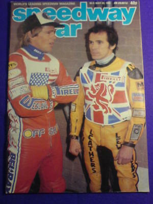 SPEEDWAY STAR - 22 May 1982