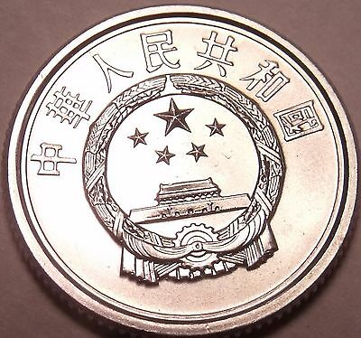 Gem Unc China 2005 1 Fen~Outstanding Coin~Free Shipping