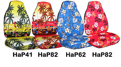 COOL SET front hAWAII CAR seat covers CHOOSE YOUR COLOR