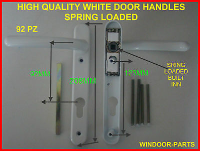 upvc WHITE DOOR HANDLES                 HIGH QUALITY