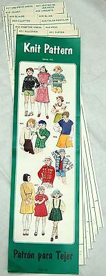 KNIT PATTERNS Series100 For Singer Silver Reed KR6