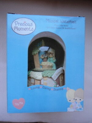 Precious Moments Musical Waterball NEW in box