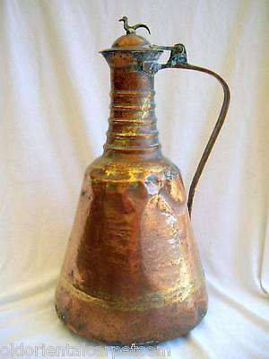 ANTIQUE PERSIAN WATER CONTAINER. An unusual example of