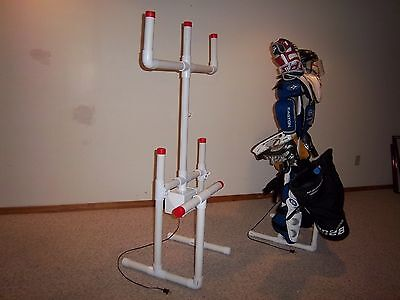 SPORTS EQUIPMENT HOCKEY DRYING RACK TREE with FREE attachment & A FREE Timer