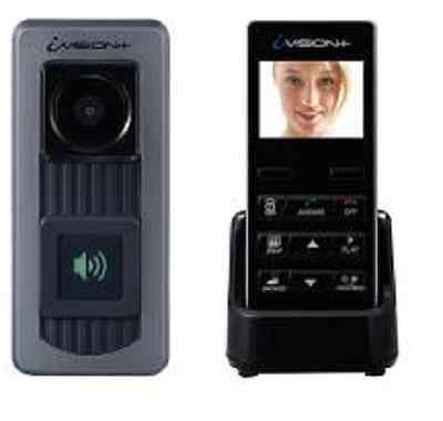 Optex iVision WIRELESS Color Video Intercom kit 220vac