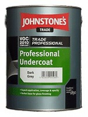 Johnstone's Trade Professional Oil Solvent Based Undercoat B/W and Dark Grey