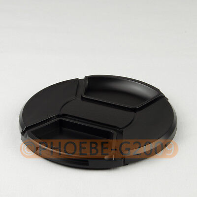 DSLRKIT LC-105 105mm Center Pinch Snap on Front Cap for Canon Nikon Sony Pentax