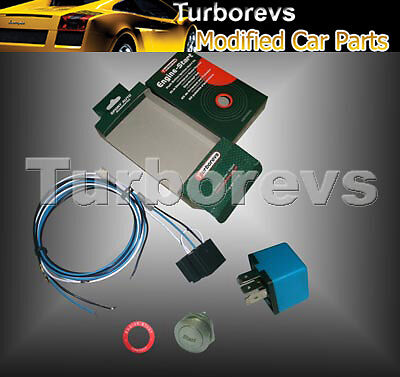 Engine Push Start Button Switch Universal Kit