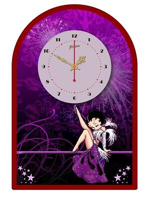 BETTY BOOP  TIN SIGN CLOCK  Retro Style Vintage Betty