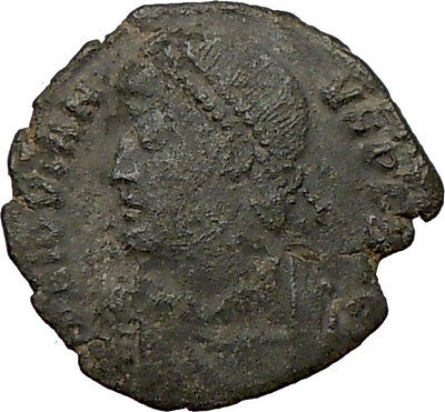 JOVIAN 363AD Rare Genuine  Ancient Roman Coin WREATH of success i22143