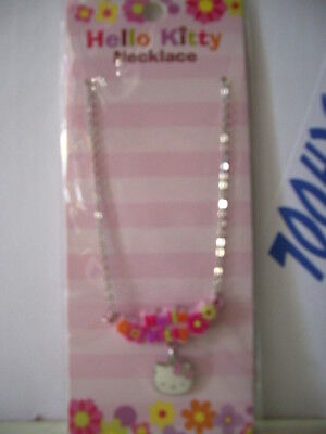 Collana Hello Kitty Summer Flower Nuova