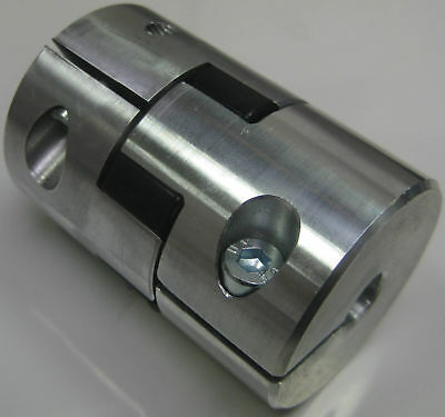 "Jaw Shaft Coupling 5/16""x3/8"" Spider Coupler 8mmx9.5mm"