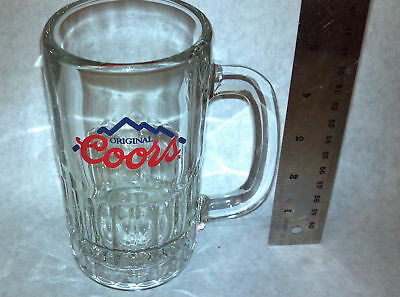 Coors Original Mug Glass Rare Collectibles New