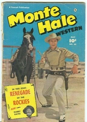 Monte Hale Western #60 photo cover 1951