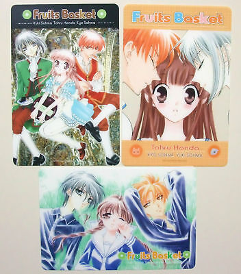 Fruits Basket clear postcard set of 3 official anime