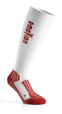 O-Motion Professional Pro Compression Socks Weiss