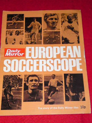 Daily Mirror European Soccerscope - story of the film