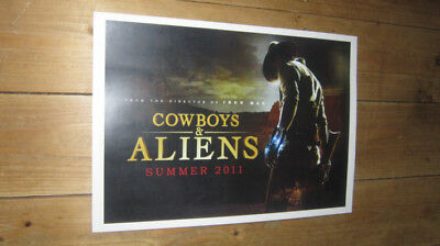 Cowboys and Aliens Repro POSTER