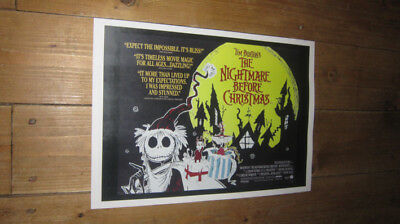The Nightmare Before Christmas Repro POSTER