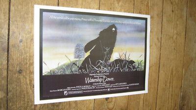 Watership Down Rabbits Repro Film POSTER
